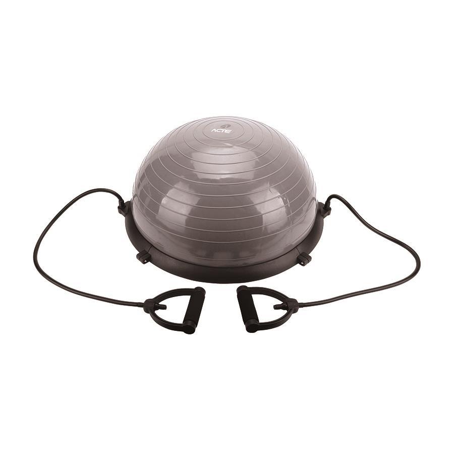 0845fa6b9f339 Meia Bola BosuActe Sports T19 Bosu Ball até 250 KG com Extensor e Bomba de  Ar