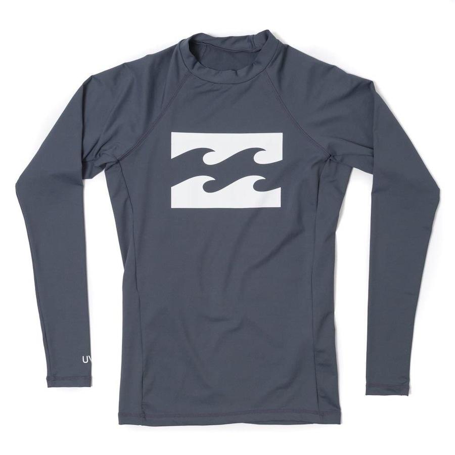 Camiseta Manga Longa Billabong All Day Wave Lycra - Masculina af6c72eec5c