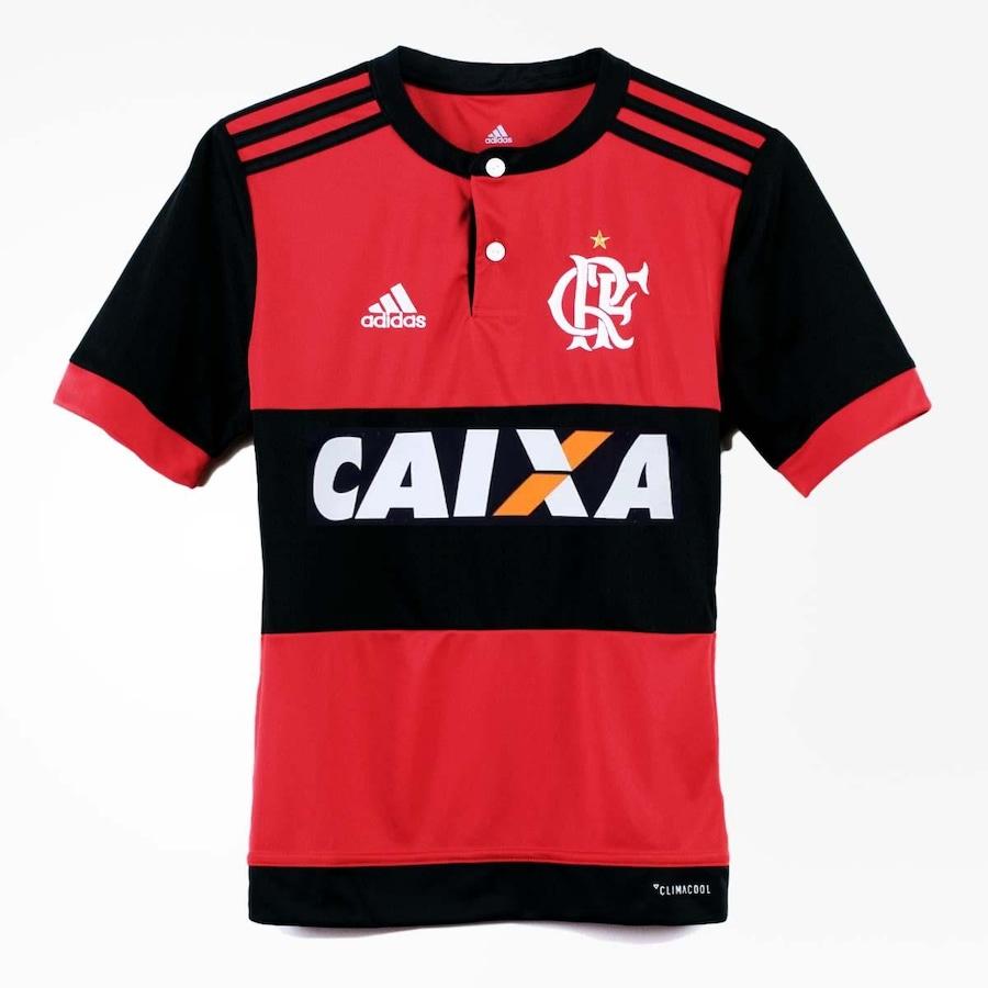 Camisa Flamengo adidas Oficial 1 - 2017 - Infantil 0a54e44001122