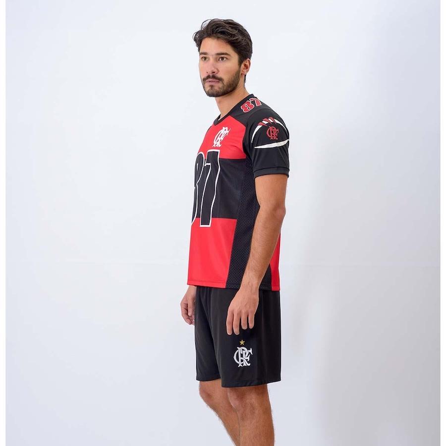 96d49ae7ad Camisa Flamengo Futebol Americano Fla Vector