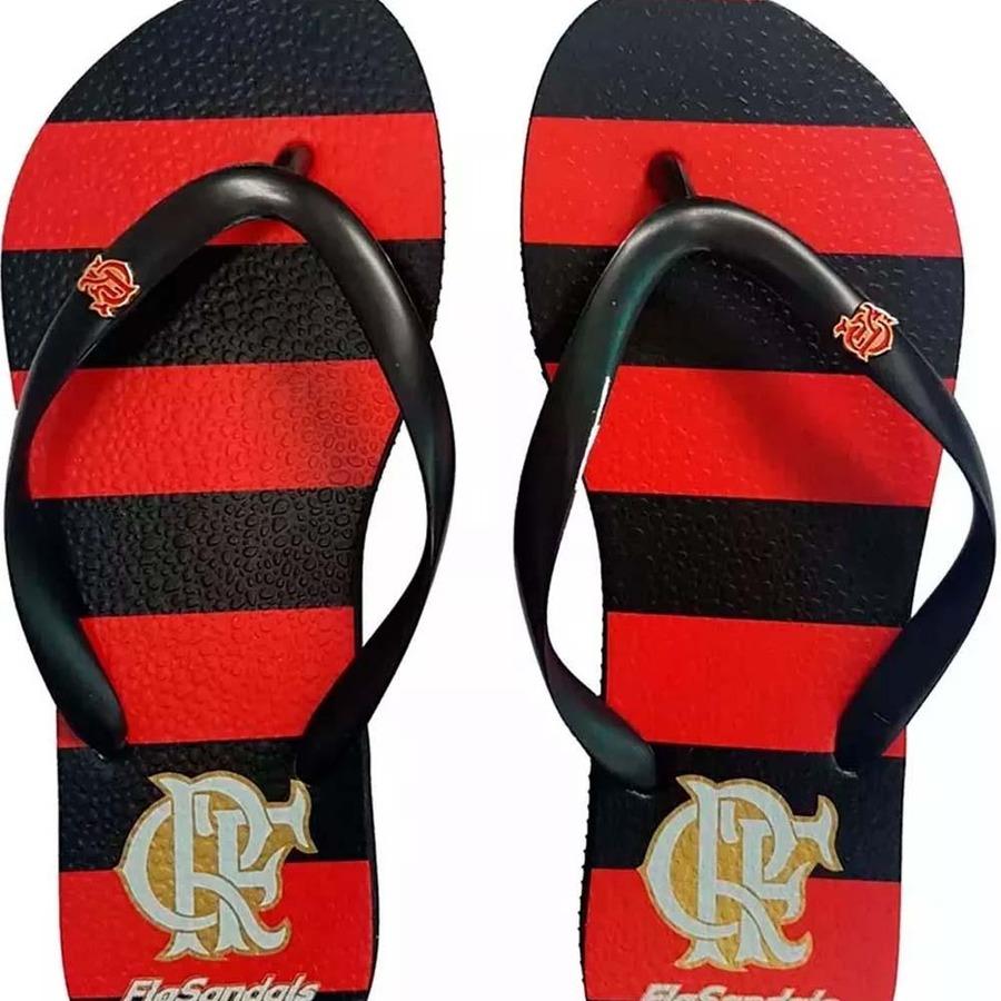 Chinelo Flamengo Fla Sandals Manto I Slim Preto - Feminino 98e8ee9cb4c27
