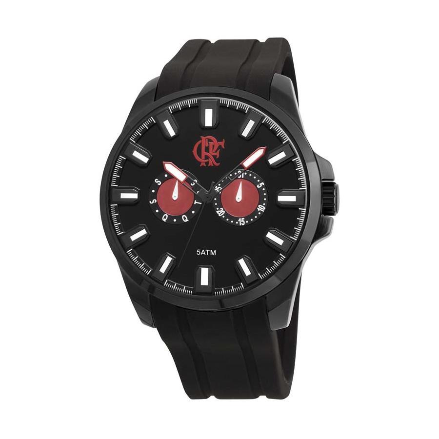 57b0bf2bf66f7 Relógio Flamengo Technos FLSAO6P25AA P
