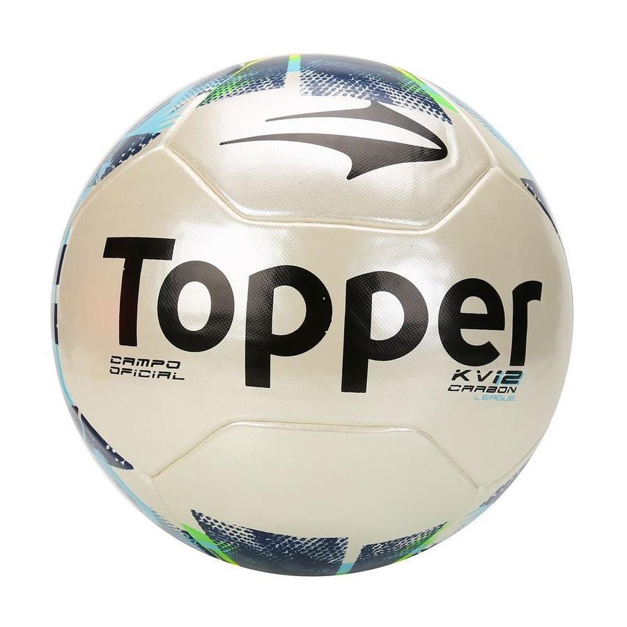 7d7f055918 Bola de Futebol de Campo Topper KV Carbon League 2