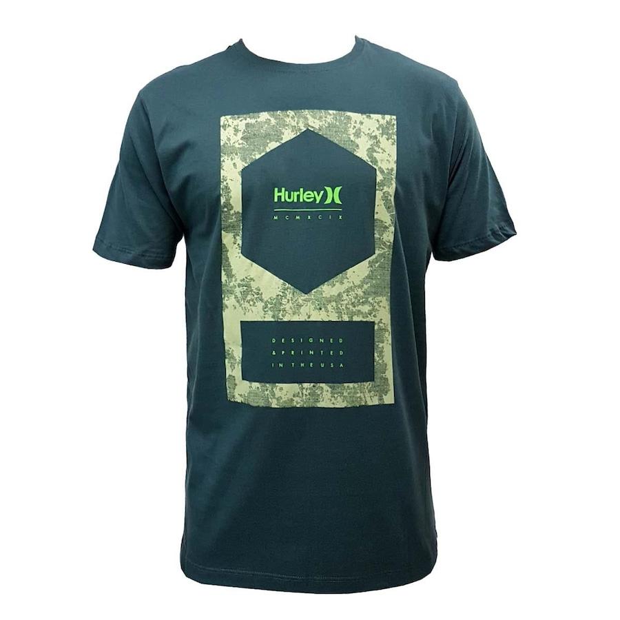 Camiseta Hurley Cornered - Masculina eeee81ae200