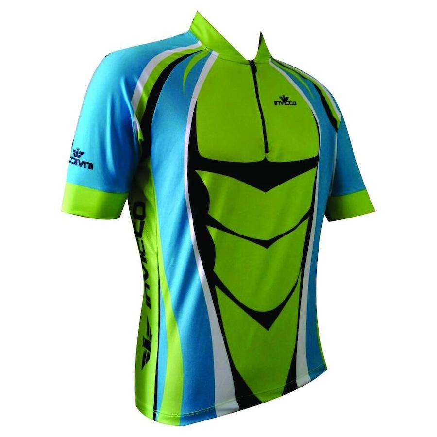 Camisa de Ciclismo Invicto Elite Gladiador - Masculina 739f6e9c7fc49
