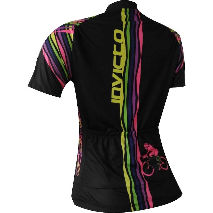 Camisa de Ciclismo Invicto Super Girl - Feminina 31ce468151658