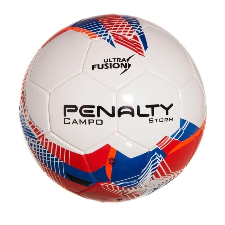 44fe54ec86 Bola de Futebol de Campo Oficial Penalty Storm Ultra Fusion