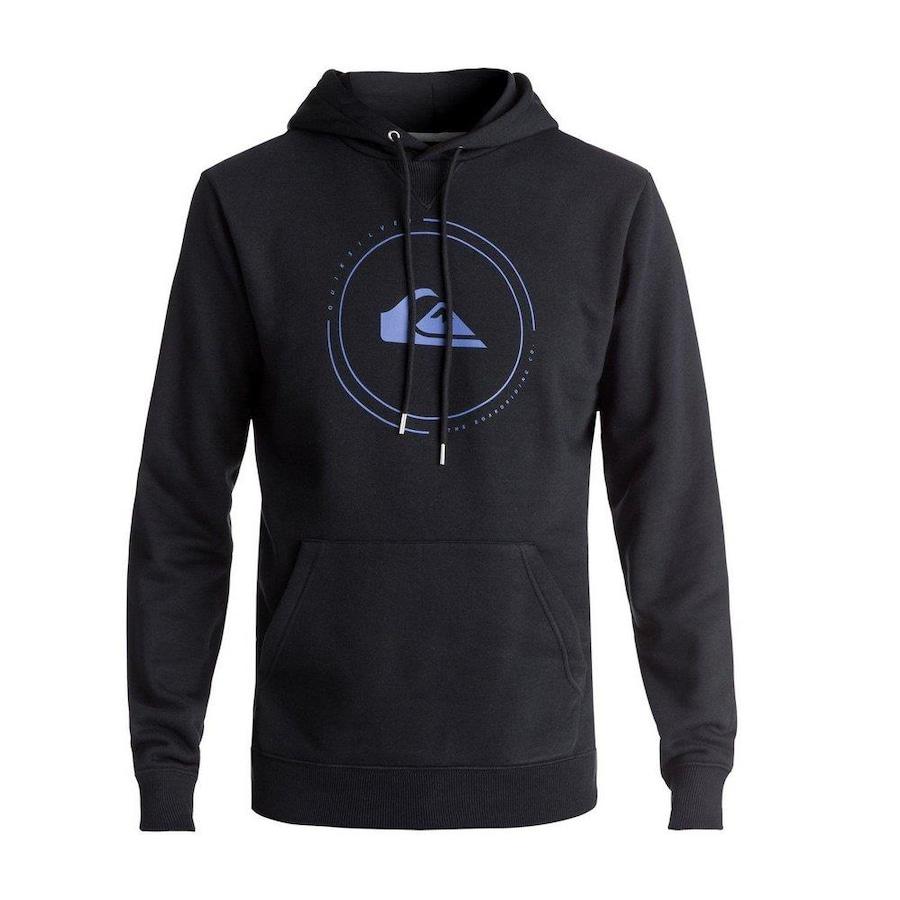 fe28956f535d1 Blusa de Moletom com Capuz Quiksilver Big Logo Hood - Masculina