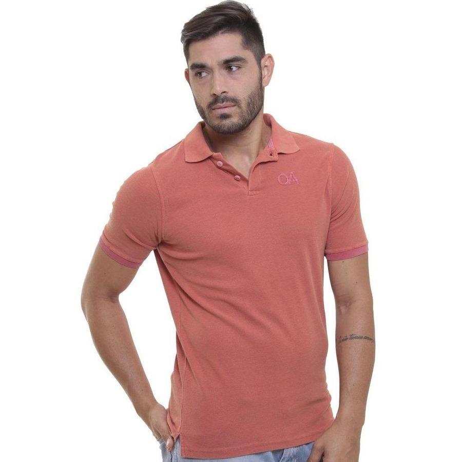 79649ef68 Camisa Polo Oitavo Ato PA Malha Inglesa Stone - Masculina