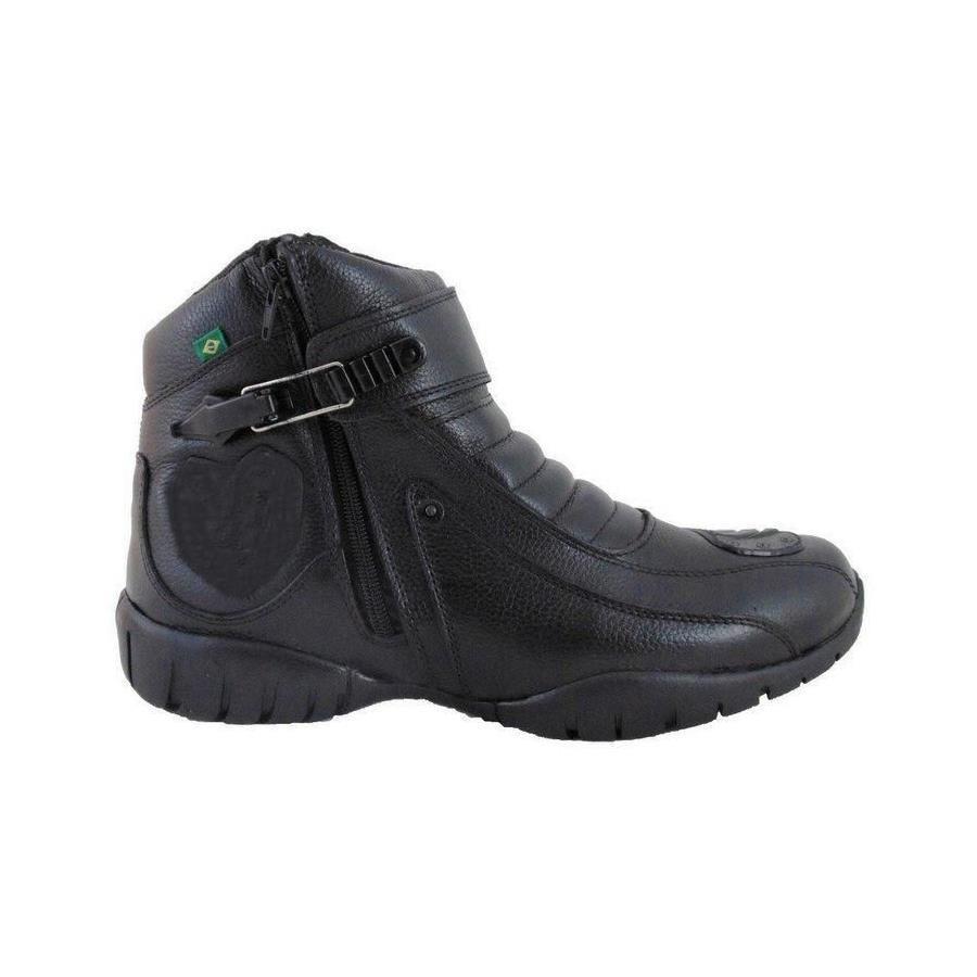 df57e786b3 Bota Motociclista Atron Shoes Motorcycle 95 Couro - Masculina