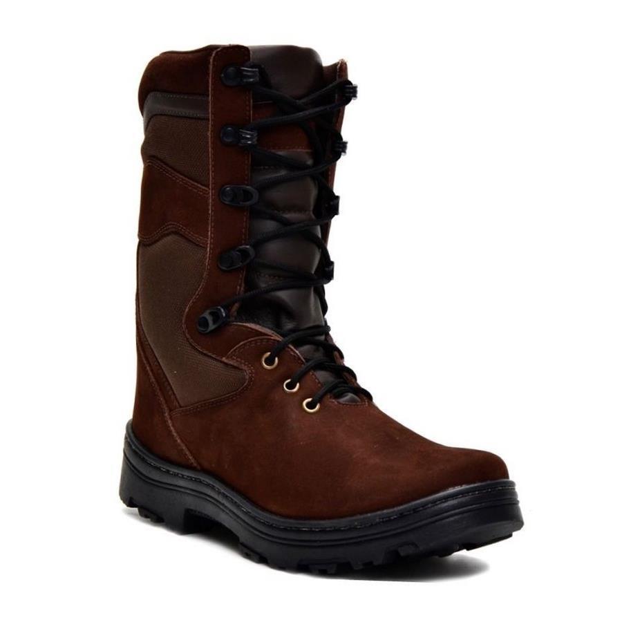 4f0aacdb7602e Bota Coturno Cano Médio Atron Shoes em Couro e Palmilha Gel - Masculina