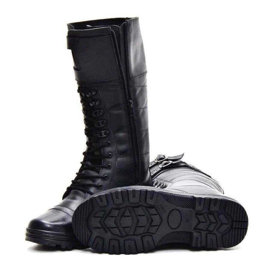 2d07dabc2b Bota Coturno Militar Atron Shoes 294AS - Masculina