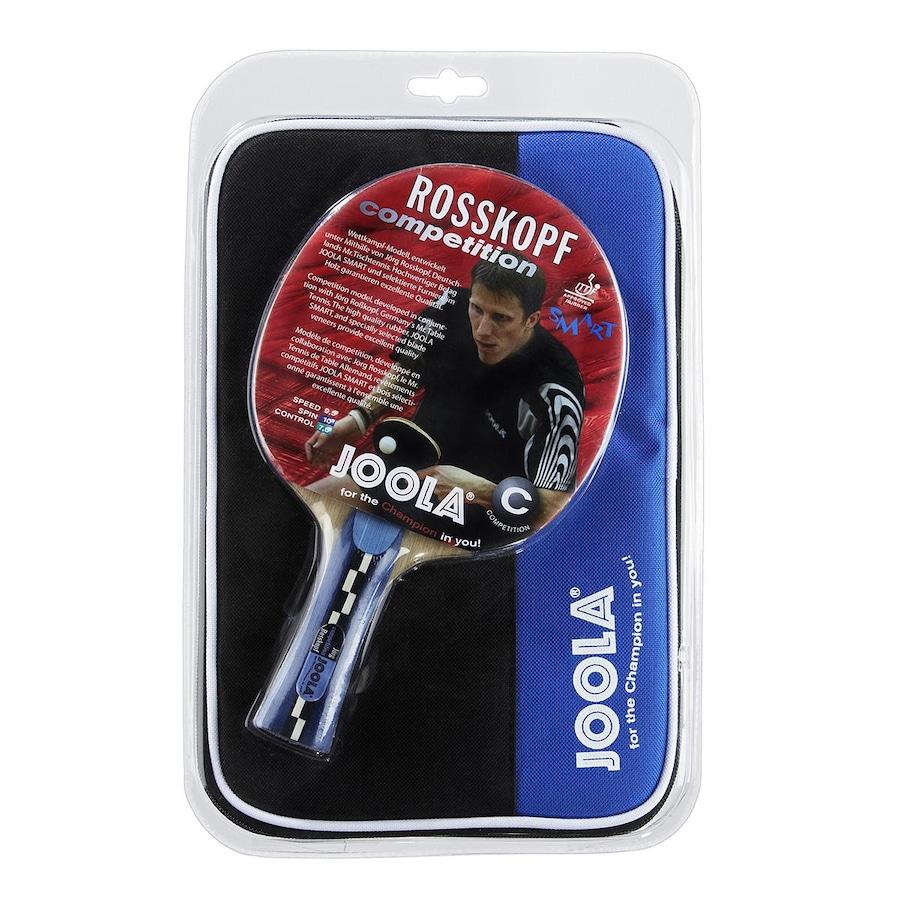 Raquete de Tênis de Mesa Ping Pong Joola Rosskopf Competition  Semi-Profissional com Raqueteira c968b2c6e9047