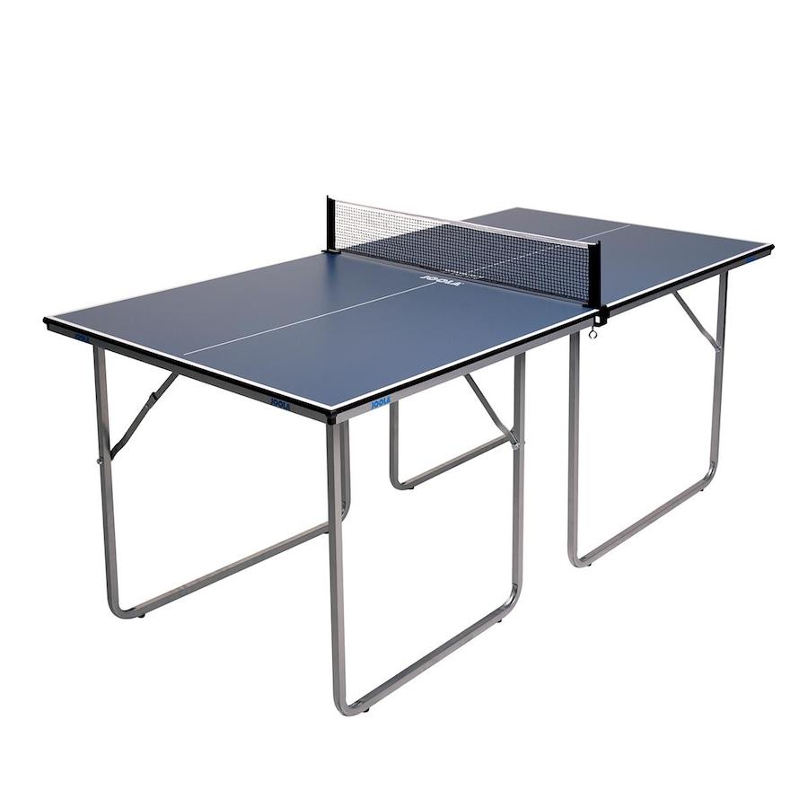 b2aab83bb Mini Mesa de Tênis de Mesa Ping Pong Joola Midsize 2 3 com Rede e Pés ...