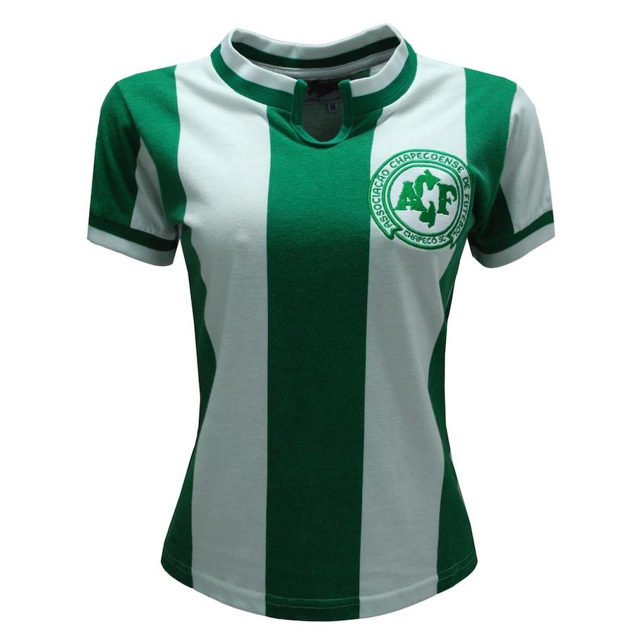 9454fe7cffdb2 Camiseta da Chapecoense Liga Retrô 1979 - Feminina