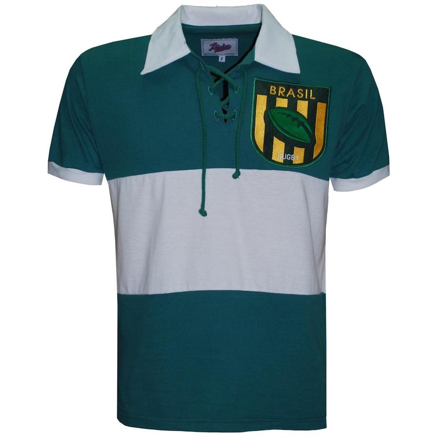 82c019505b Camiseta Liga Retrô Brasil Rugby - Masculina