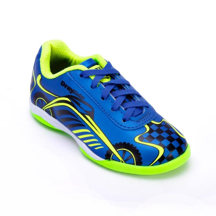 Chuteira Futsal Drayzinho 156CO - Infantil 682ca3b159de9