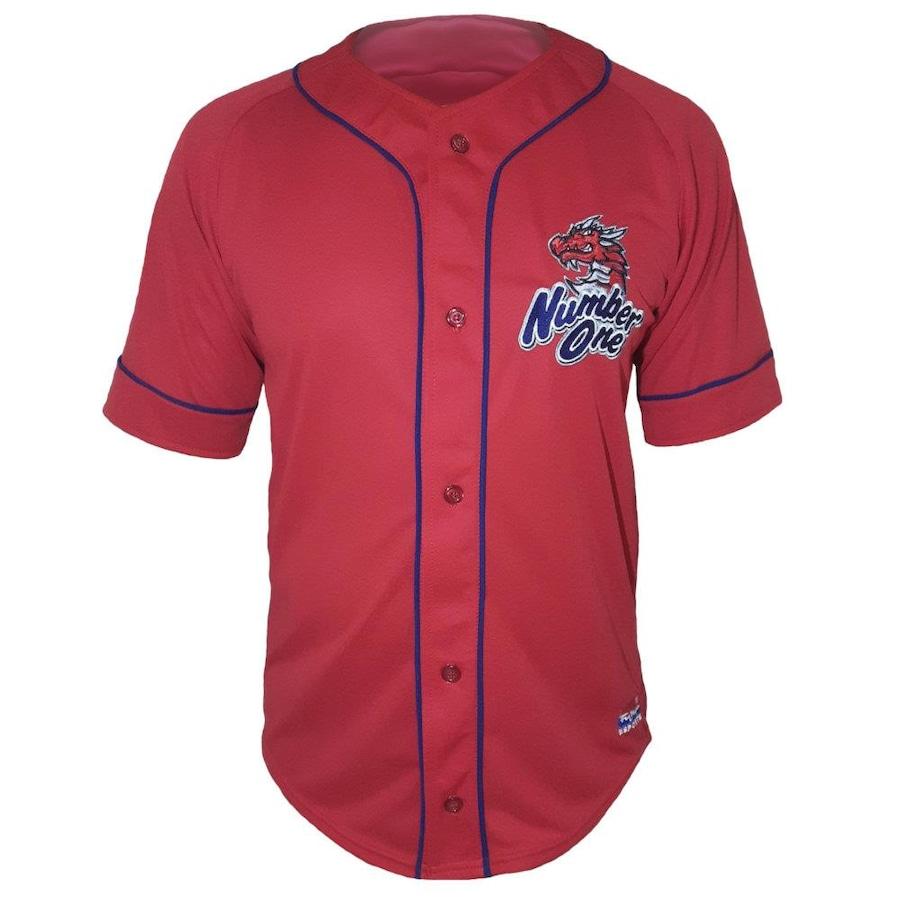 9936ca8161734 Camisa de Beisebol Esporte Fujiya Jersey Number One - Masculina