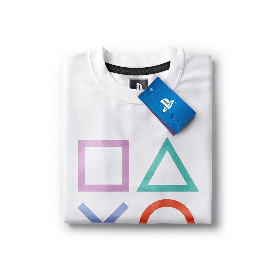847af1cc4d Camiseta Playstation Classic Symbols - Masculina