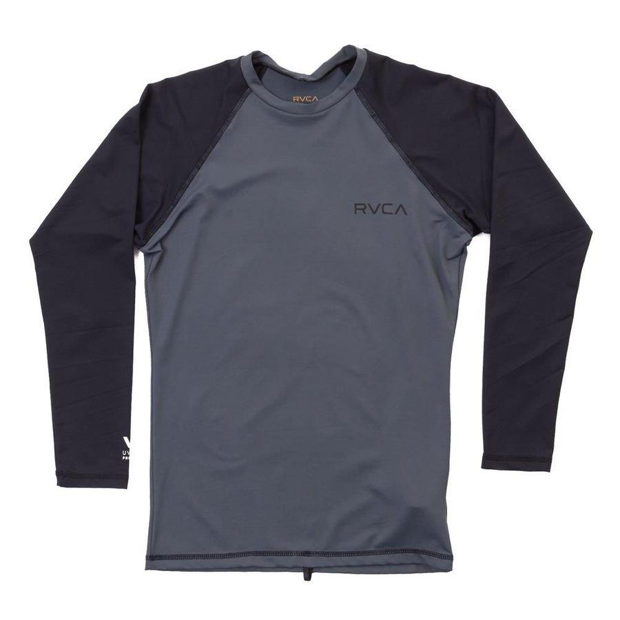 Camiseta Manga Longa RVCA Rashguard Solid LS Lycra - Masculina 05332e3df9