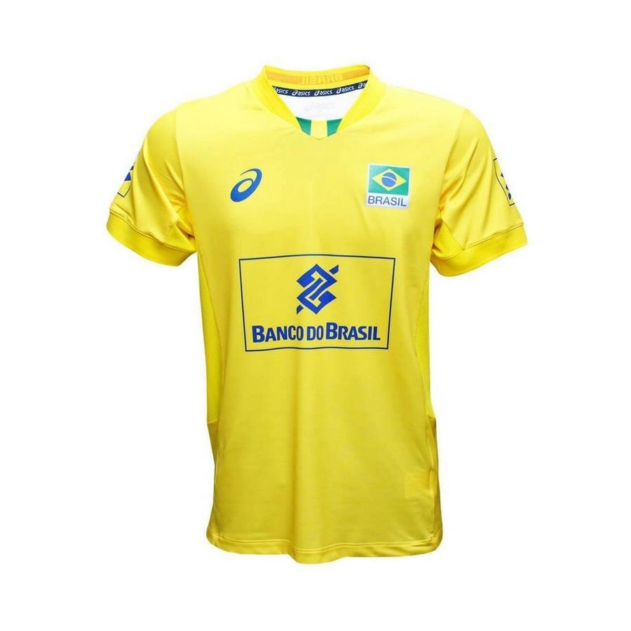 390c0ffd8e Camisa Asics Seleção de Vôlei Brasil CBV - Masculina