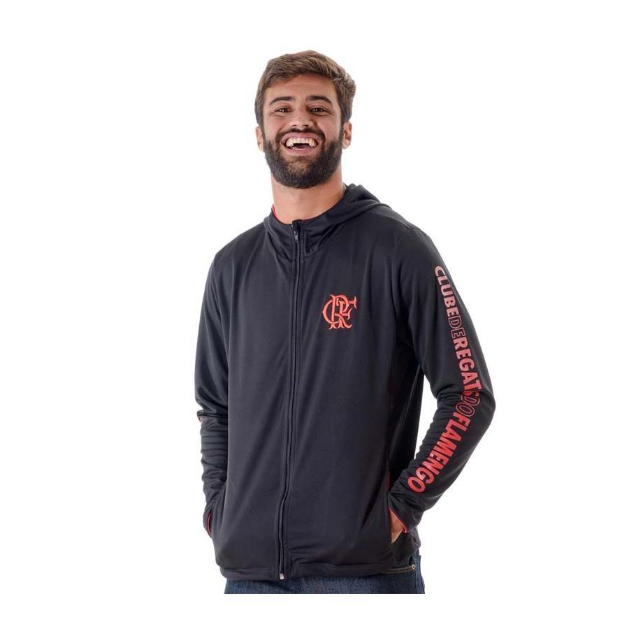 Jaqueta com Capuz do Flamengo Braziline Under - Masculina d5c9f5b055ca5