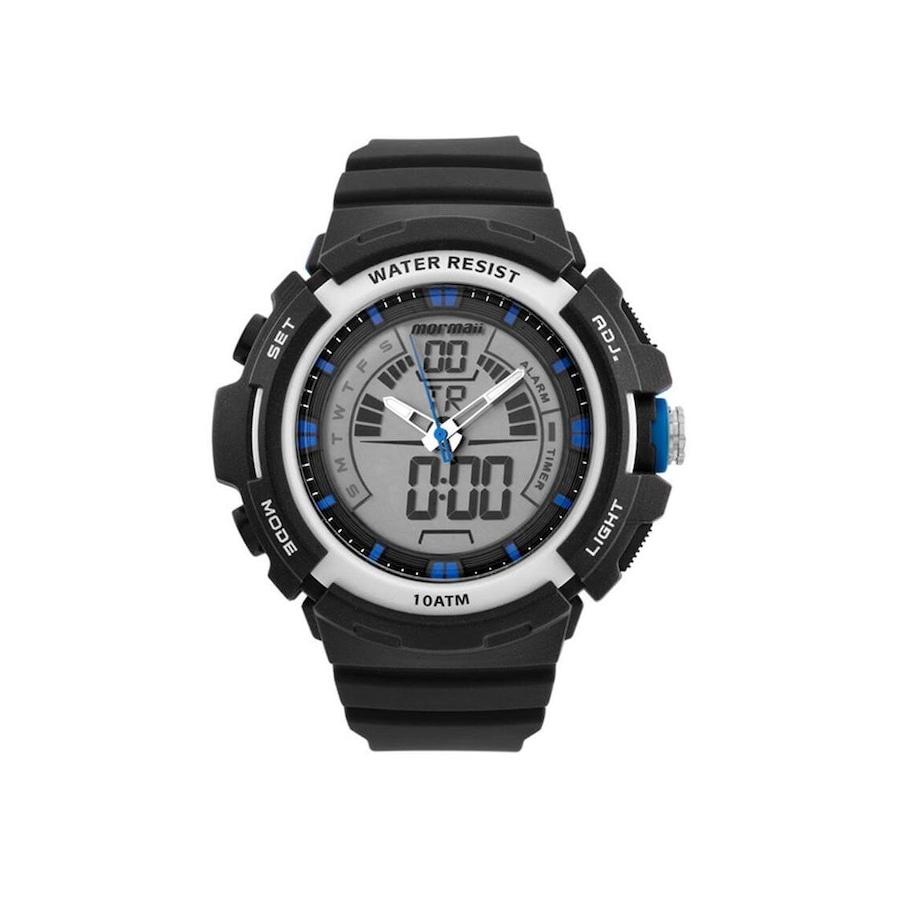 7b8bf4344ea Relógio Digital Analógico Mormaii MOAD089028A - Masculino