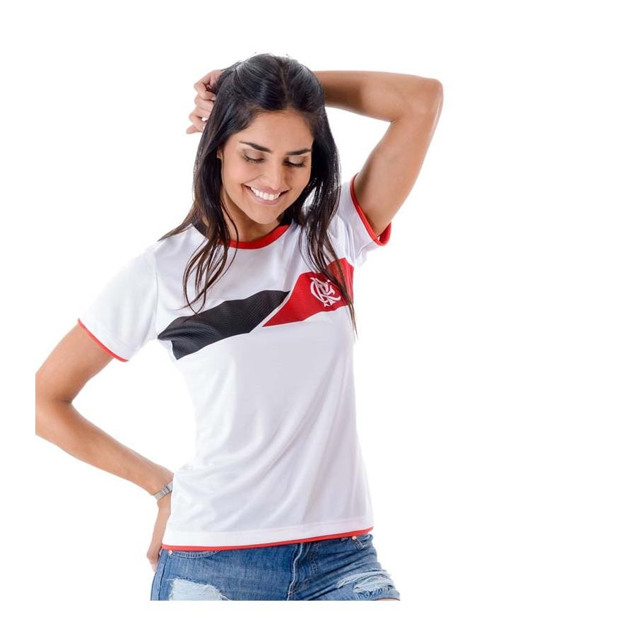 Camiseta do Flamengo Braziline Fire - Feminina 1d6f83b2f467d