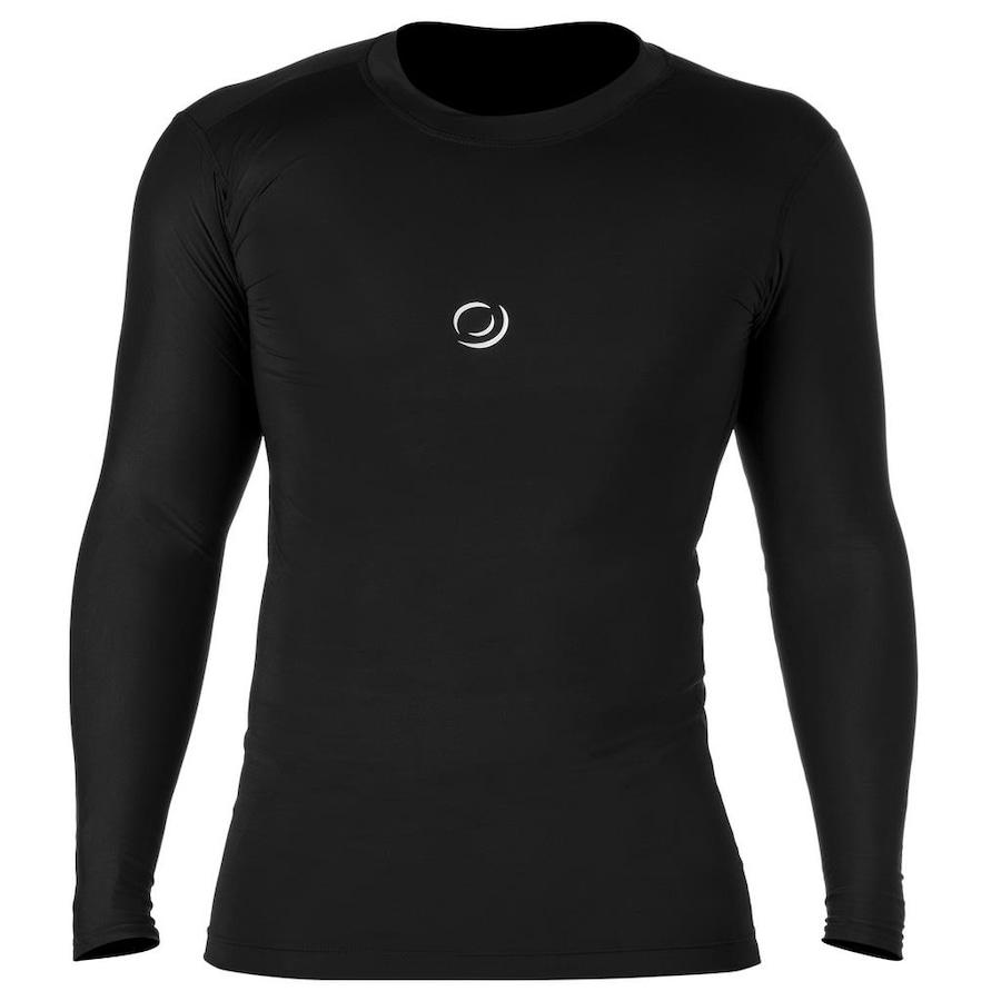Camisa de Compressão Manga Longa RH Sports X1 - Masculina b80dc4cf7f0fd