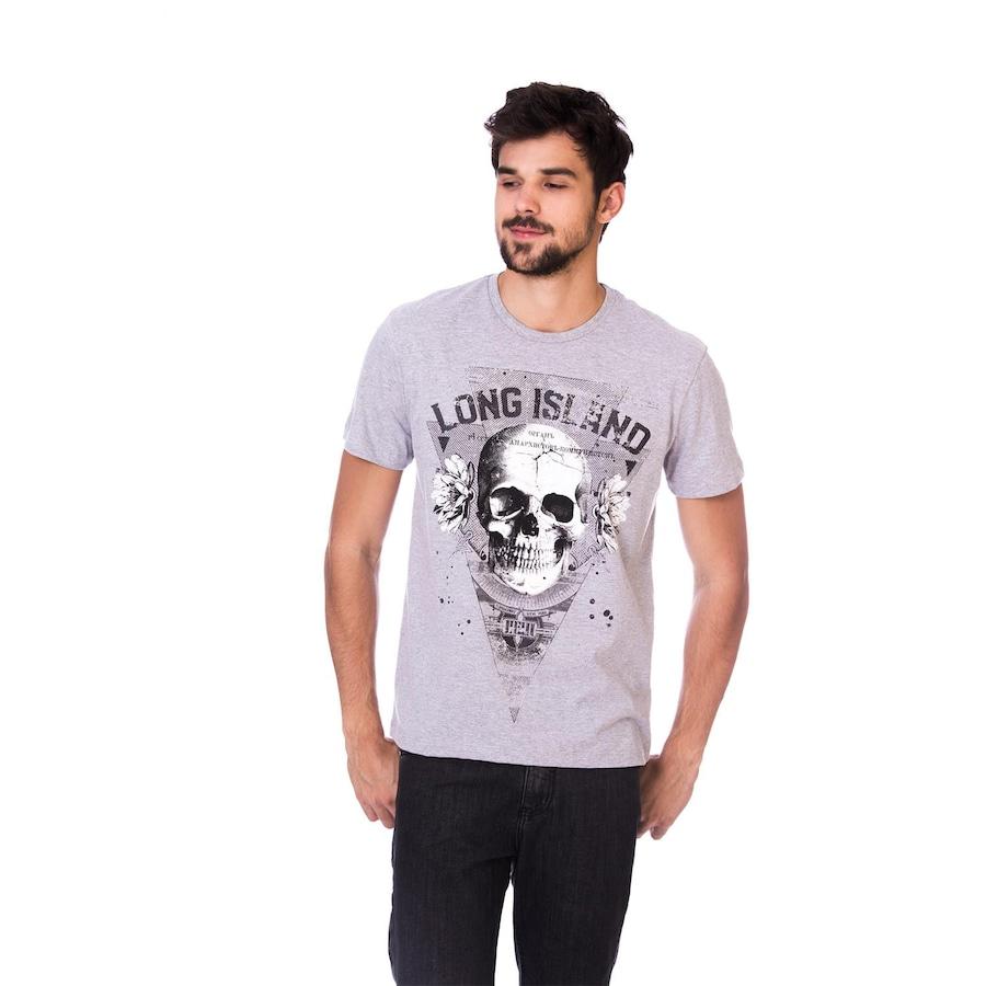 Camiseta Long Island Caveira - Masculina b9cc003edba