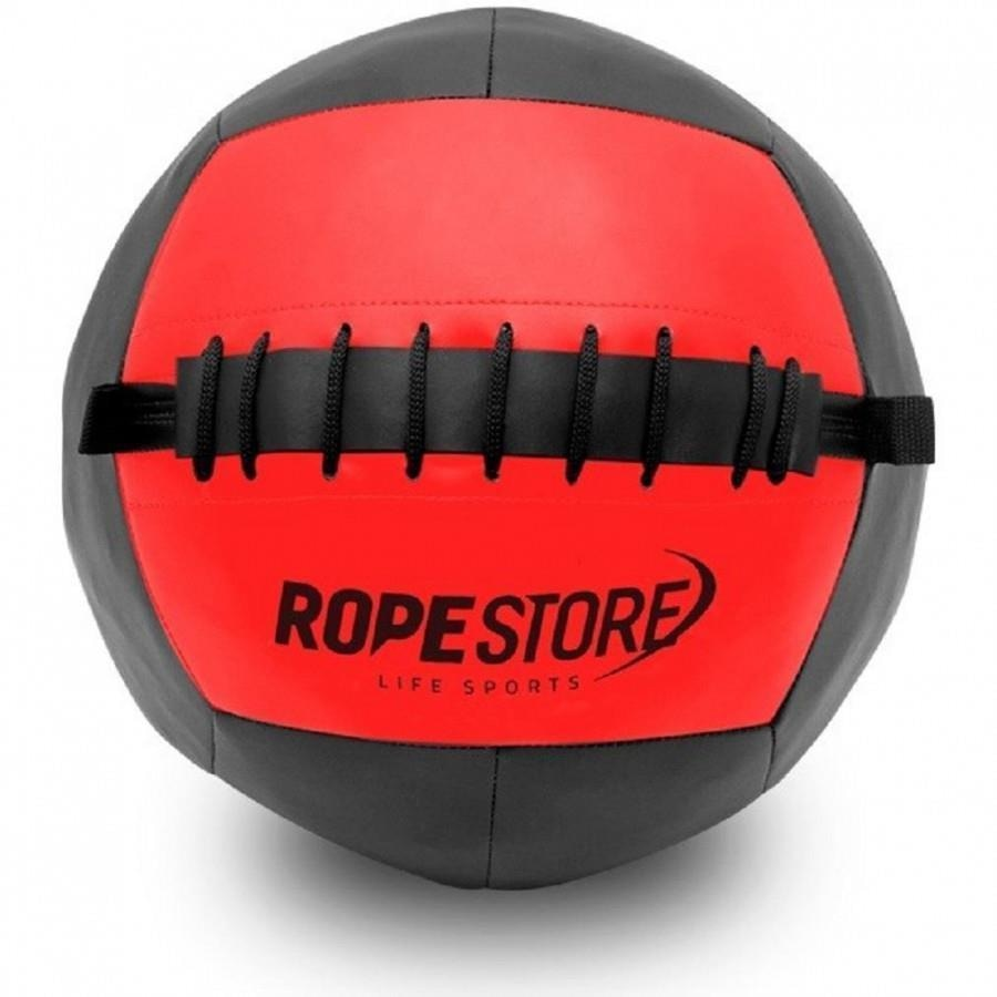 355f13573 Bola de Couro Wall Ball Rope Store - 11Kg