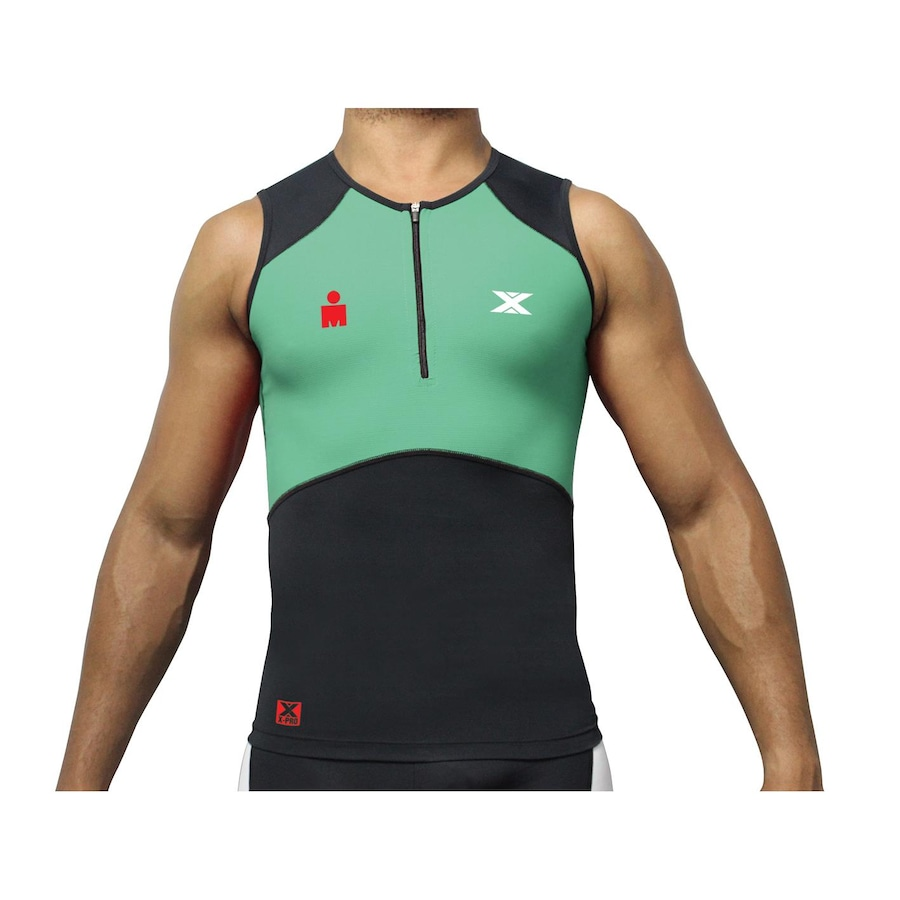 9d0b97b445 Camisa Regata de Triathlon DX-3 Iron Man Ultra Compressão - Masculino