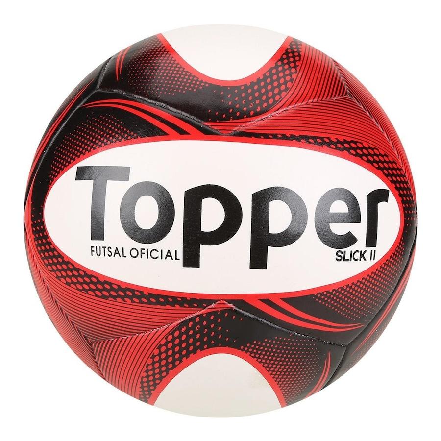 Bola de Futsal Topper Slick II 64957d6d6f98b