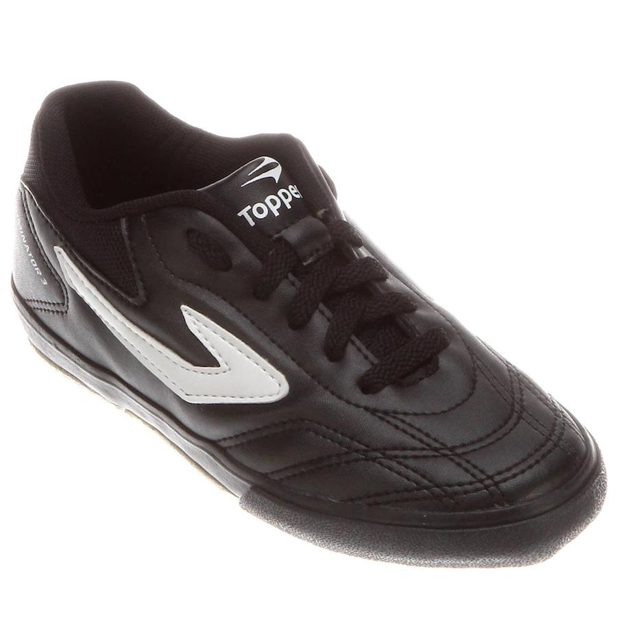 Chuteira de Futsal Topper Dominator - Infantil b50282396cdd6