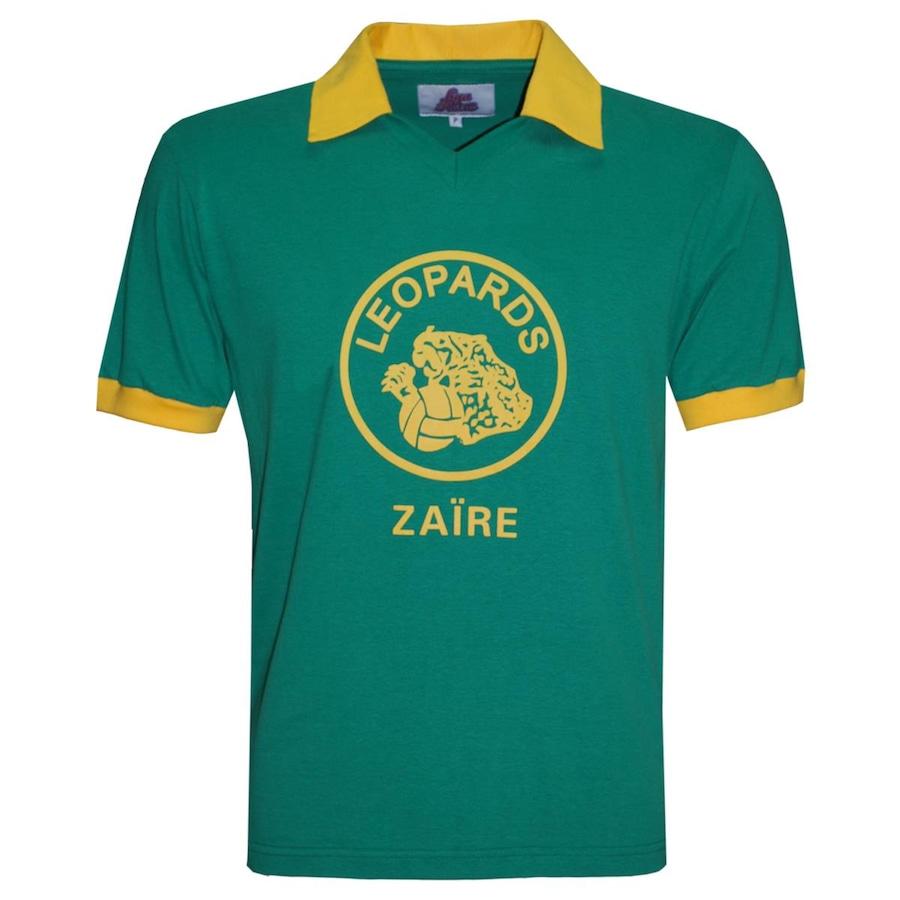 Camiseta Zaire Liga Retrô 1974 - Masculina 688db97a75ad0