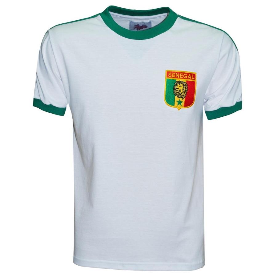 bdd3a87e132fa Camiseta Senegal Liga Retrô 1985 - Masculina
