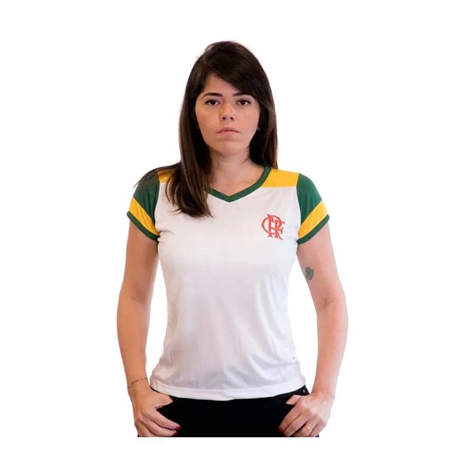Camiseta do Flamengo Braziline Brasil Retro - Feminina 1b44a1e9f524f