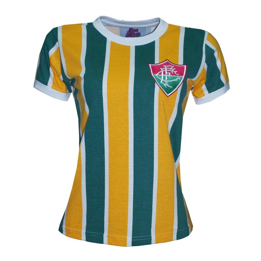 Camiseta do Fluminense Liga Retrô Brasil - Edição Limitada - Feminina 0ae805355a803
