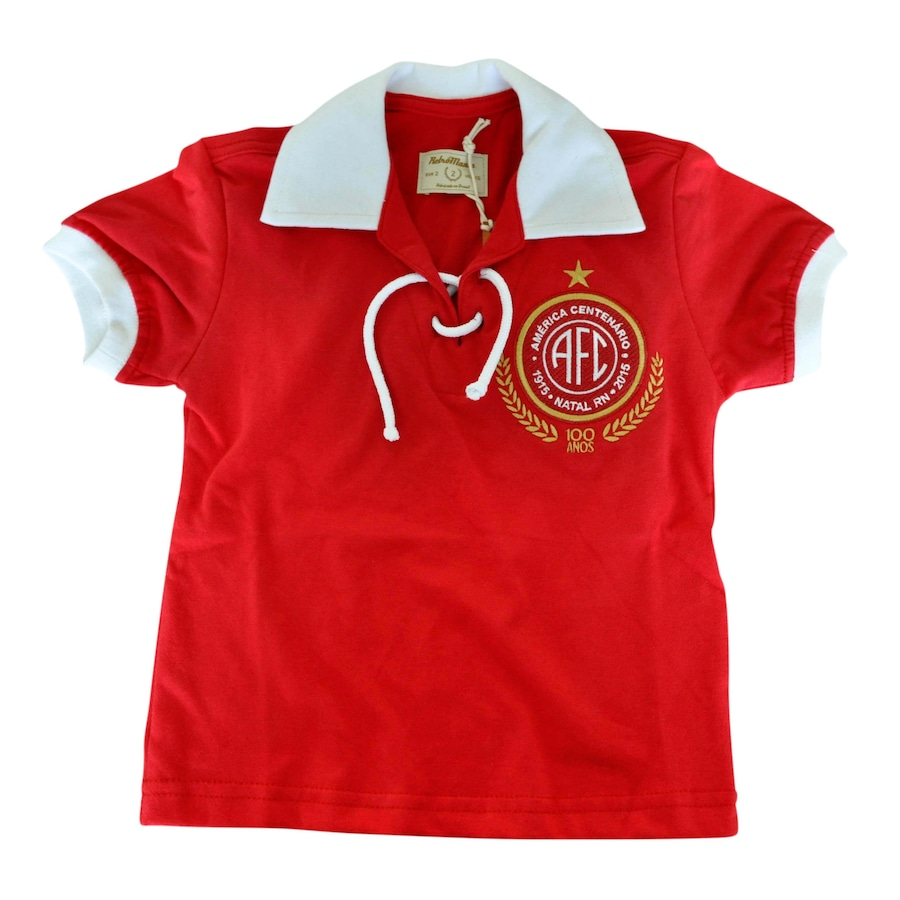Camiseta do América-RN RetrôMania Centenário - Infantil 2f8129d8141a9