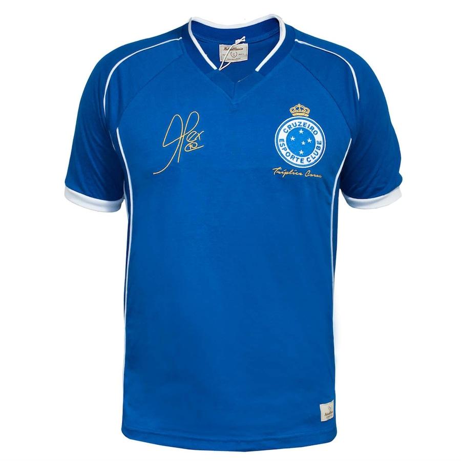 Camiseta do Cruzeiro RetrôMania 2003 Alex Tríplice Coroa - Masculina f5727787172af