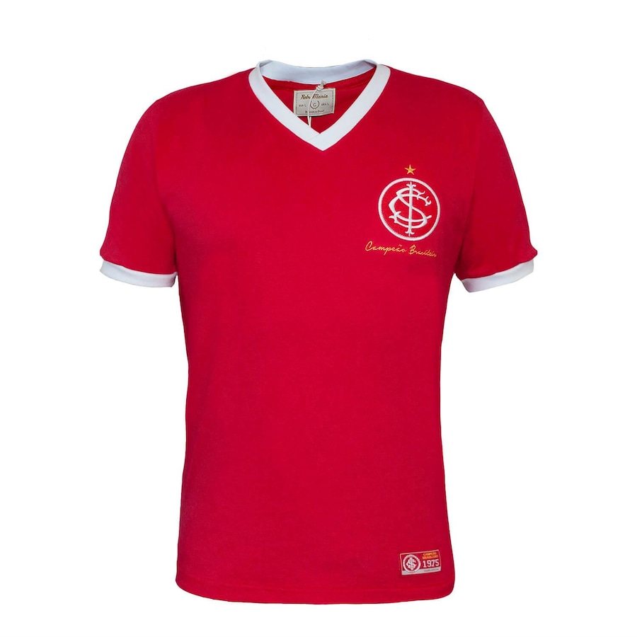 Camiseta do Internacional RetrôMania 1975 - Masculina 22ec9127a3bf2