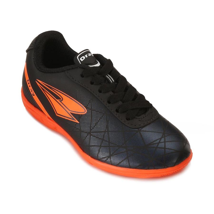 Chuteira Futsal Dray Juvenil DR18-306CO - Infantil 1ef2651e123c6