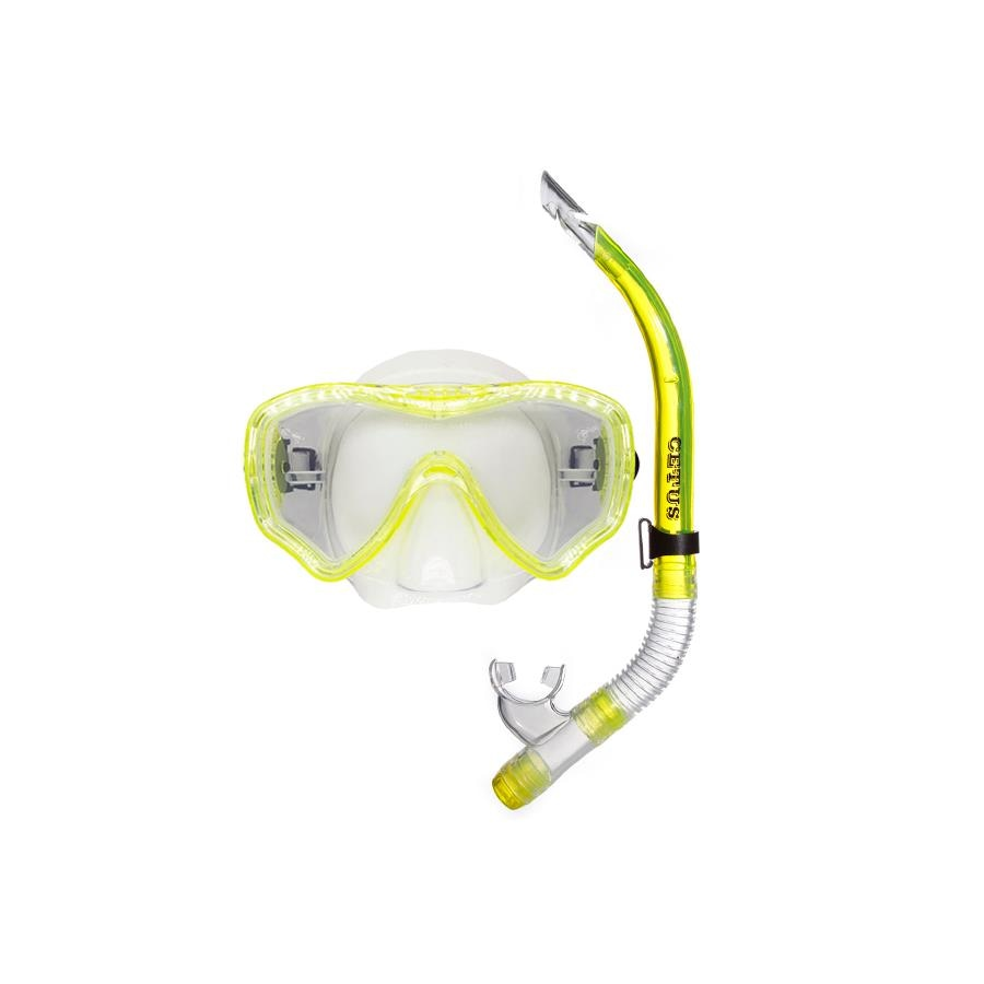 7eb051f95 Kit de Mergulho Cetus New Parma  Máscara + Snorkel - Adulto