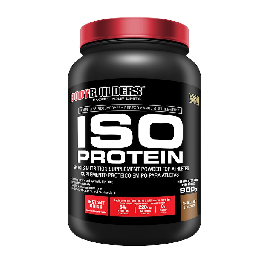d9a6b2c8d Whey Protein Isolada Bodybuilders - Chocolate - 900g