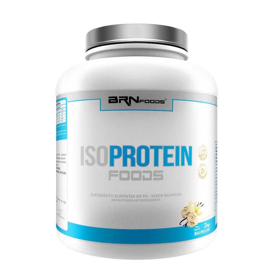 47c2b1ffb Whey Protein Isolada IsoProtein BRN Foods - Baunilha - 2Kg