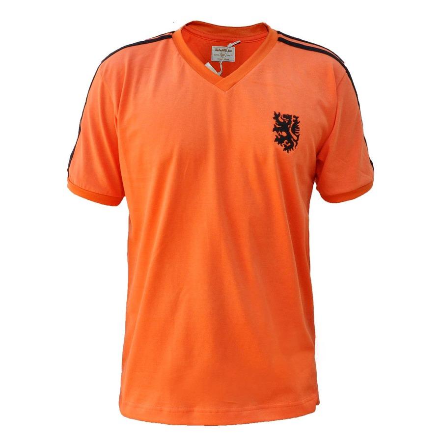 Camiseta Holanda RetrôMania 1974 - Masculina 2d33f18016f32