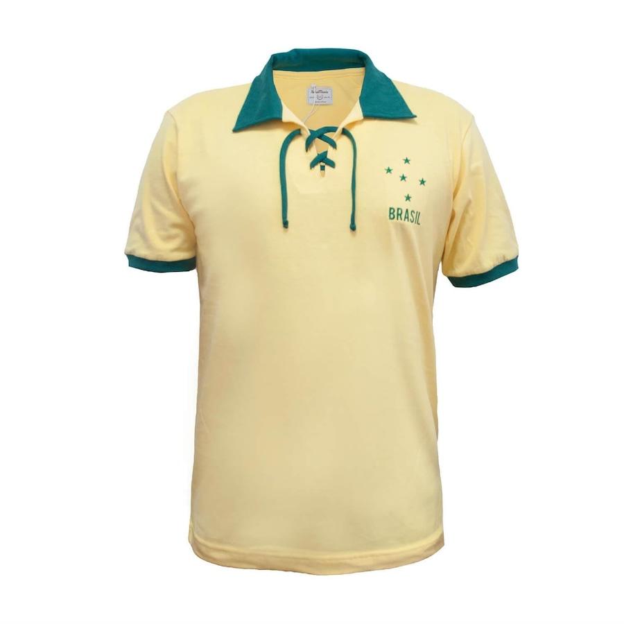 5c3ac4439d0c2 Camiseta do Brasil RetrôMania Cordinha - Masculina