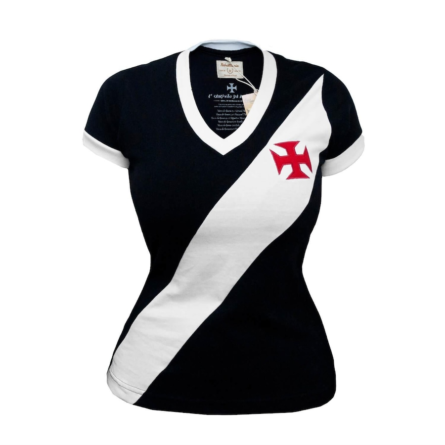 779f9adee5 Camiseta do Vasco da Gama RetrôMania 1948 - Feminina
