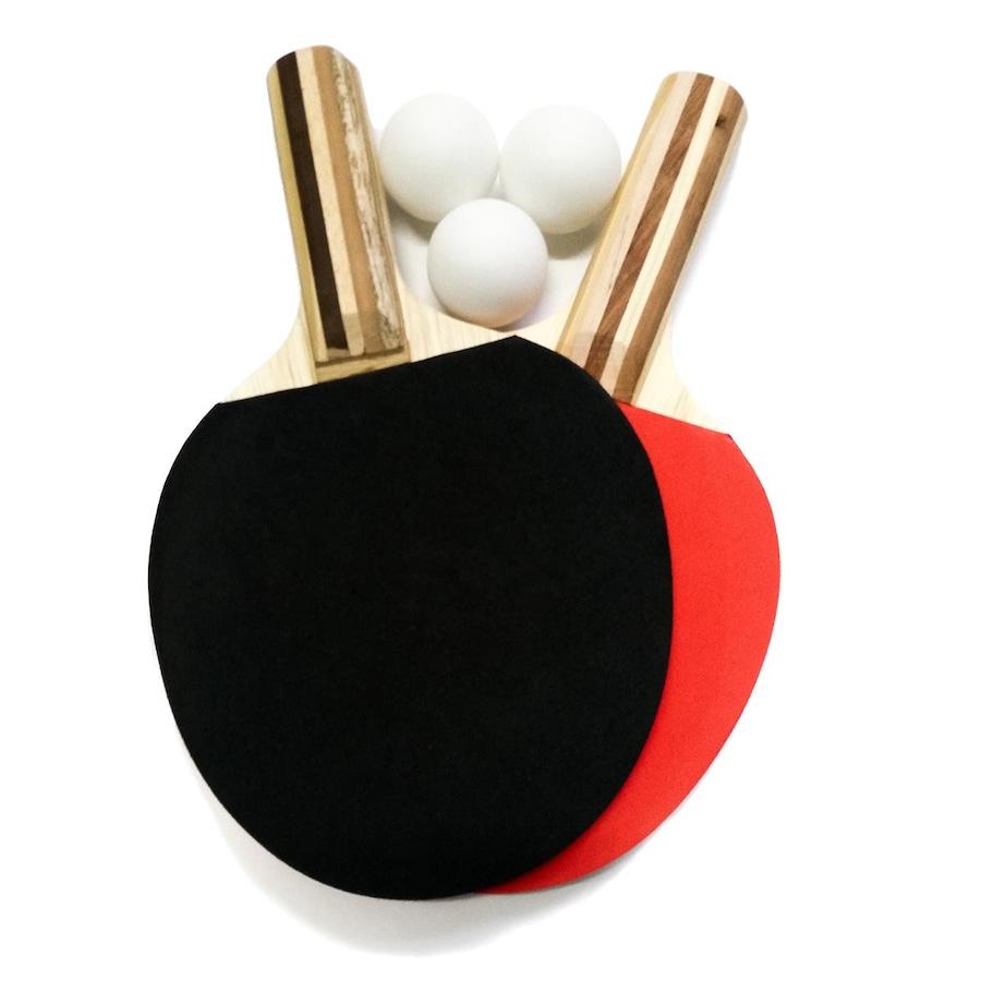 Kit de Tênis de Mesa Procópio BB  2 Raquetes + 3 Bolinhas 1528d13af3b6f