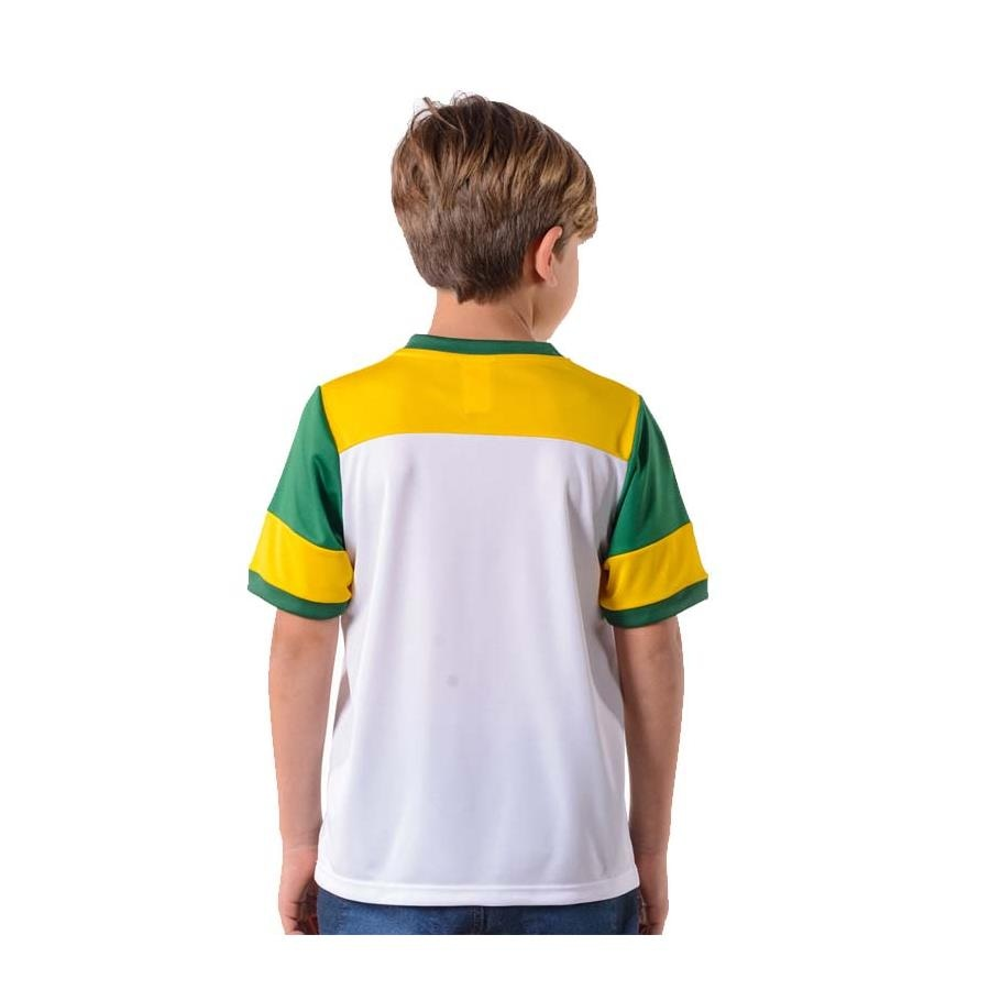 Camiseta do Flamengo Braziline Brasil Retro - Infantil c5672384af2cd